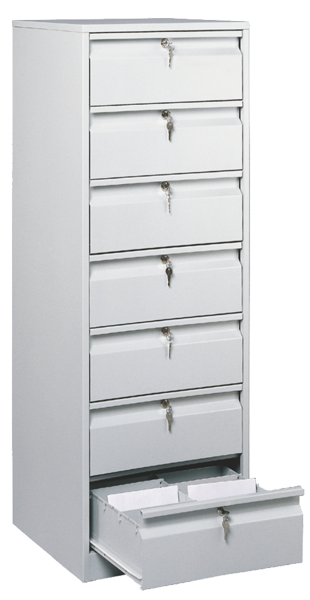 Filing cabinets for A5, notes, DVD -- TK 7